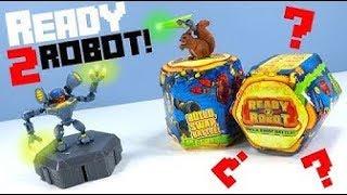 РОБОТЫ #ТРАНСФОРМЕРЫ В ЛИЗУНЕ! #Ready2Robot #Slime Robot. Игрушки Сюрприз для мальчиков