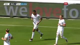 FC Sion vs. FC Zürich 2:2 (35. Runde) 22.05.2016