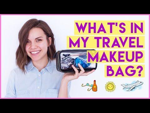 What's In My Travel Makeup Bag? My Essentials! ◈ Ingrid Nilsen