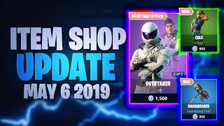 Fortnite Item Shop Update *NEW* COLE SKIN! [06.05.2019 - 6th May 2019] Fortnite Battle Royale