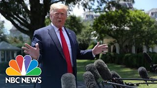 President Donald Trump: 'If We Had The Right Laws,' Migrant Dad, Girl Might Be Alive | NBC News