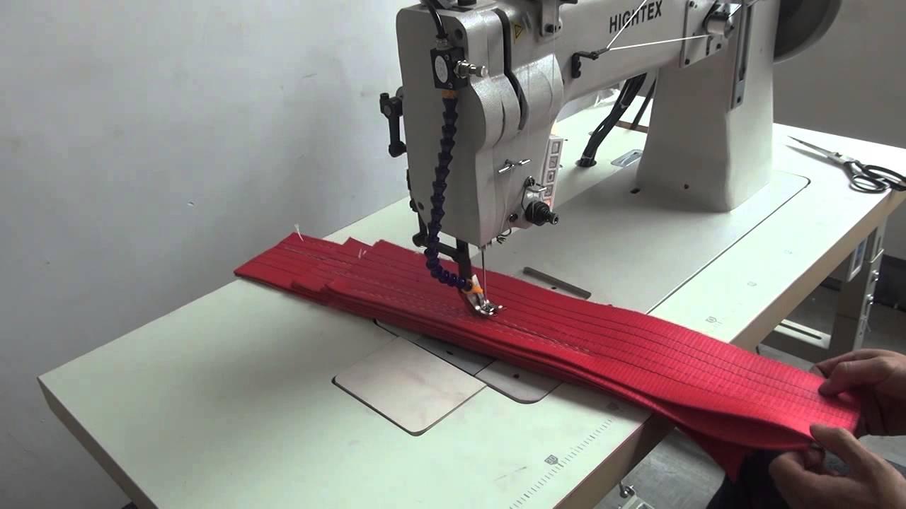 Máquinas de coser doble arrastre para fabricación de