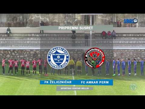 Izvještaj: FK Željezničar - FC Amkar Perm 0:0 (FULL HD)