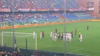 Genoa Lecce punizione Veloso