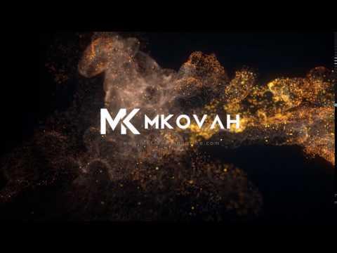 01 Mkovah Elegant Soft particel Logo reveal