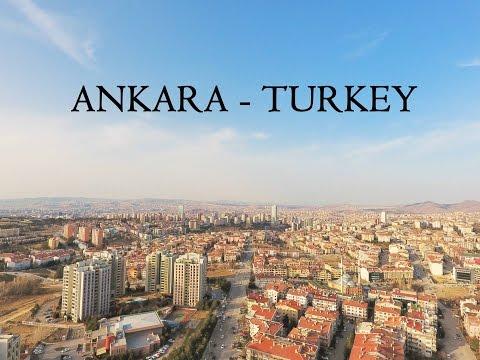 My First DJI phantom 4 Drone flight in Ankara, Turkey / Havadan ANKARA TURKEY