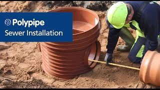 Sewer Installation Time - Plastics vs Concrete Sewer Pipes | Polypipe Civils