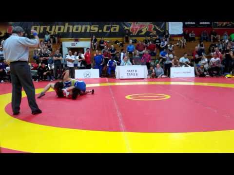 2015 Canada Cup: 53 kg Jasmine Mian (CAN) vs. Miyuu Yamamoto (JPN)