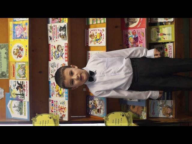Изображение предпросмотра прочтения – ИгнатСлухов читает отрывок изпроизведения «Крестьянские дети» Н.А.Некрасова