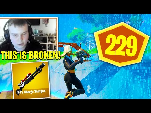 BENJYFISHY *GOD MODE* W/  NEW CHARGE SHOTGUN STRAT In HYPE NITE! Fortnite Season 3 Chapter 2