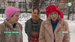Суровая русская зима: ни проехать, ни пройти