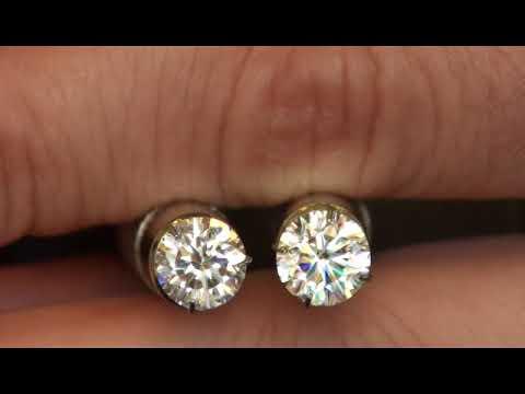 A Brief Moissanite Gem & Fire Polish Diamond Visual Comparison