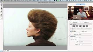 Shape Hair Using the Liquify Tool in Photoshop