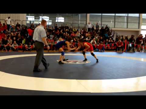 2015 Junior National Championships: 51 kg Amber Wiebe vs. Alexandria Town