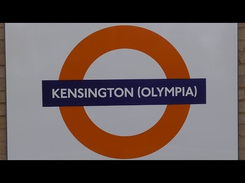 Trains At Kensington Olympia - Wednesday 2nd December 2015