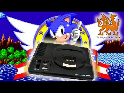 SEGA MEGA DRIVE MEGADRIVE GAMES  - SONIC THE HEDGEHOG thumbnail
