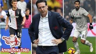 Arsenal boss Unai Emery hatches plan to sign Daniele Rugani and Sami Khedira from Juventus- news ...