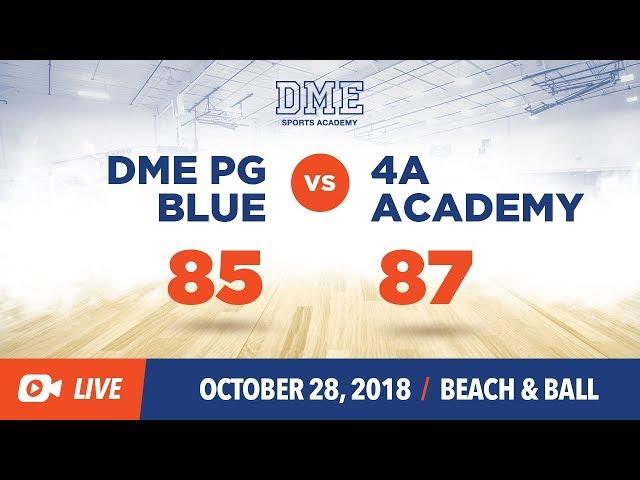 DME BLUE VS 4A SPORTS