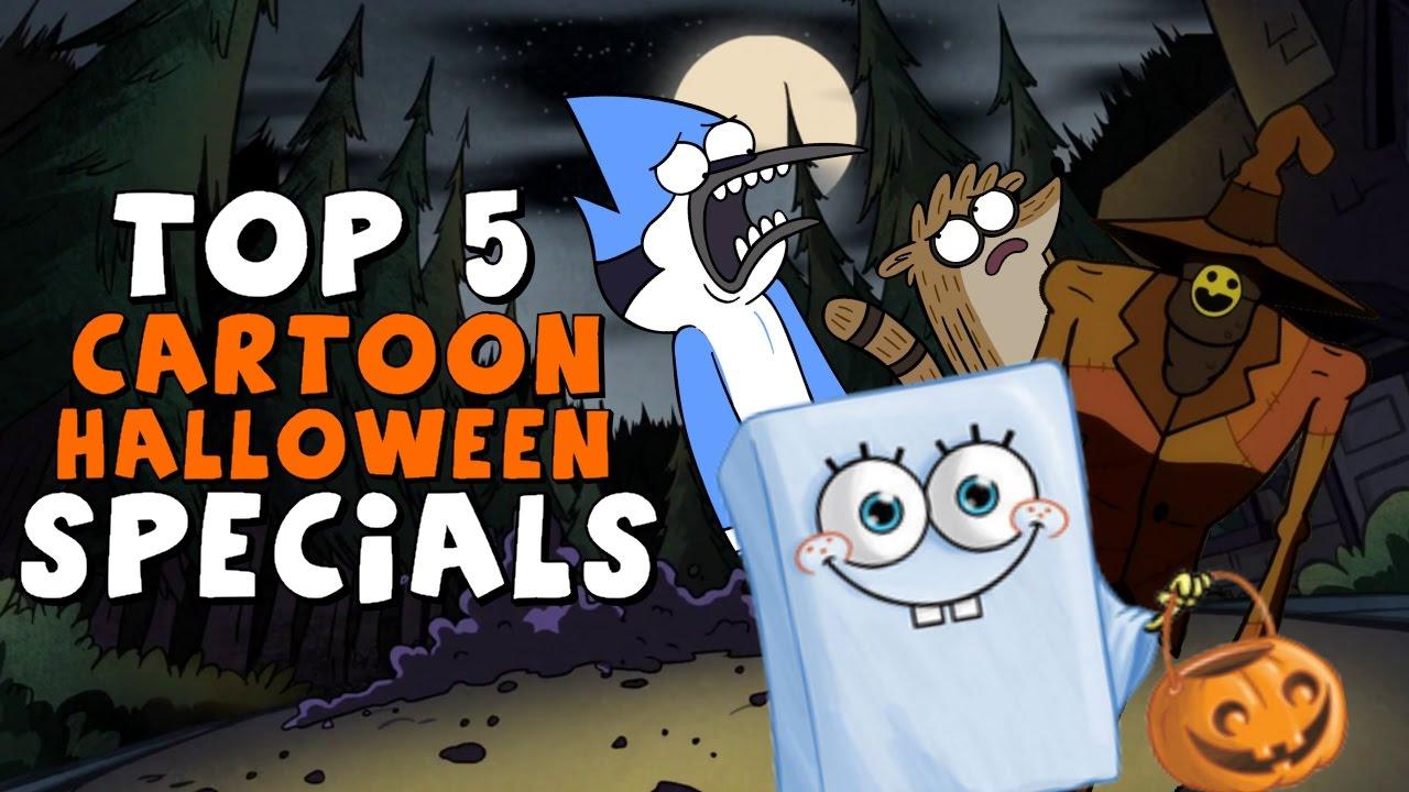Top 5 Cartoon Halloween Specials - YouTube