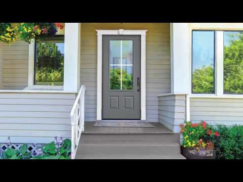 How To Install A Fypon Door Surround   YouTube