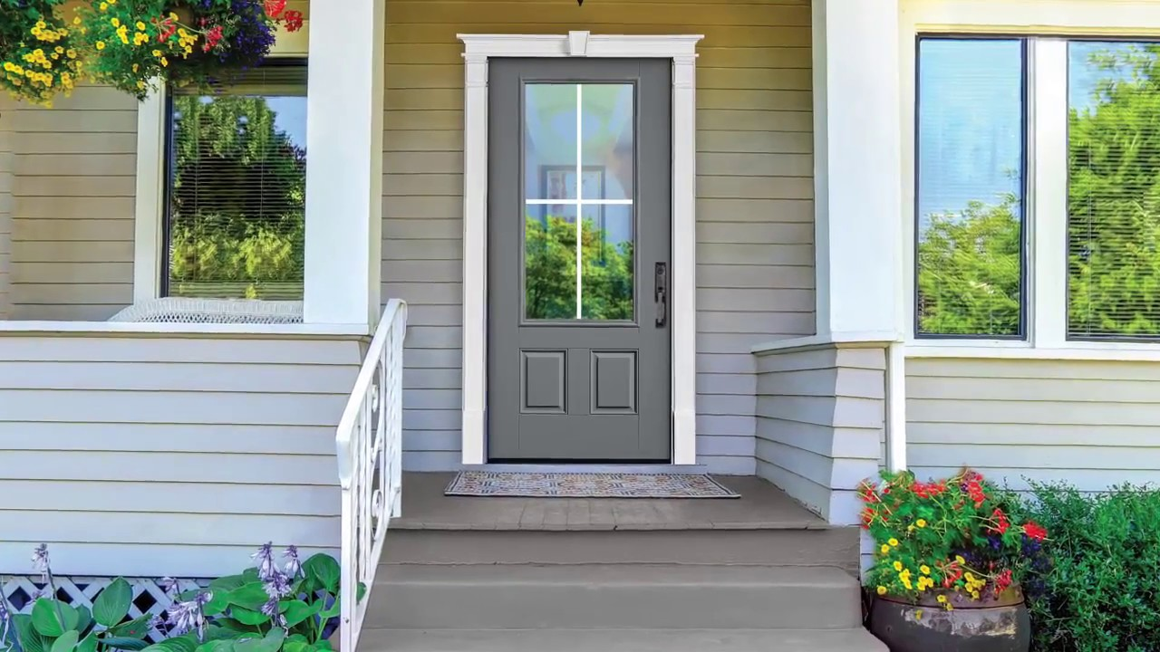How to install a fypon door surround youtube - Decorative exterior door pediments ...