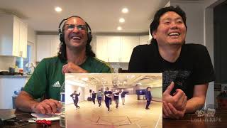Clueless Guys react to EXO - Ooh La La La (Dance Practice)