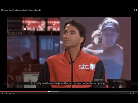 STC founder Robby Menard discusses Eugenie Bouchard on Sports 30