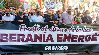 '¡La luz está a precio de caviar!': Solidaridad lidera la indignación ciudadana contra el Gobierno