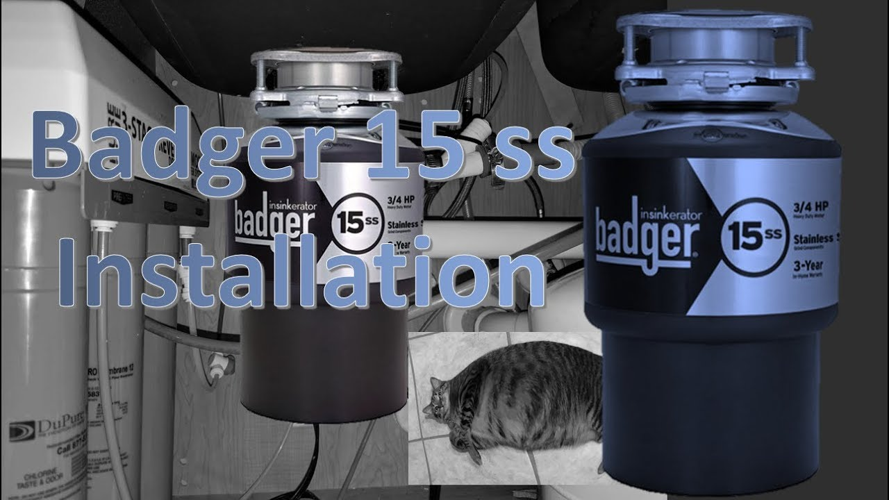 Badger 15ss Install How To Replace A