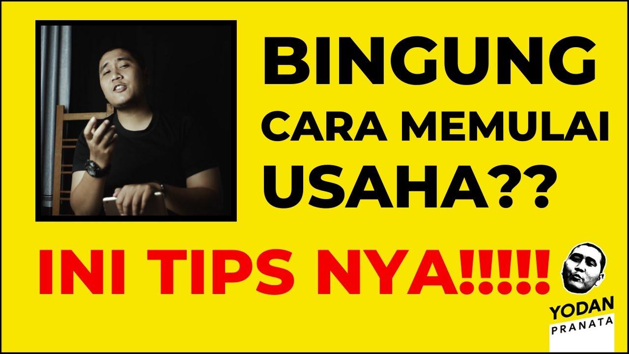 TIPS CARA MEMULAI USAHA - YouTube