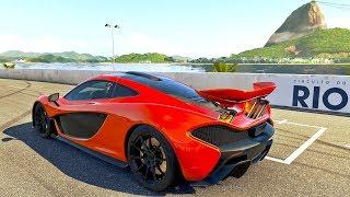 Forza Motorsport - Acelerando Uma Mclaren P1 No Rio De Janeiro - GoPro ‹ ZoiooGamer ›
