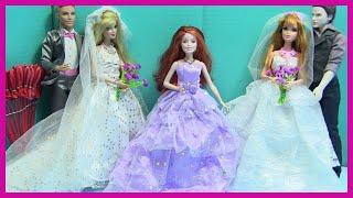 Váy Cưới Mới Của Barbie - Thử Váy Mới Chuẩn Bị Đám Cưới - ĐỒ CHƠI TRẺ EM - Kênh Chị Bí Đỏ