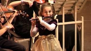 Моцарт ария Дон Жуана исп на флейте пикколо Яна Багрина 1 кл