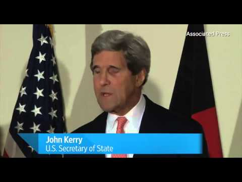 Kerry: Afghan Presidential Candidates Agree To Vote Audit