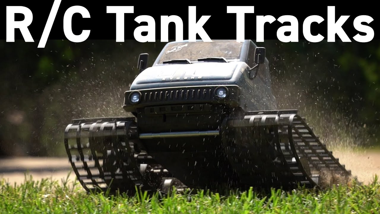 Reviewing the Kyosho Trail King Tank Track R/C Vehicle