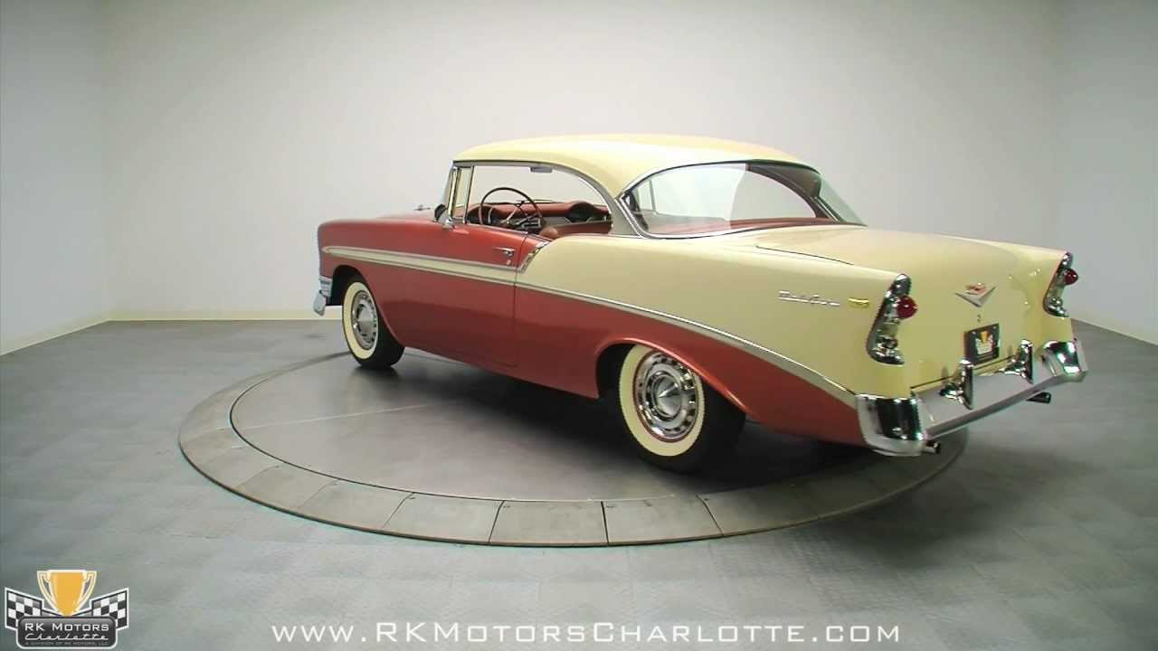 132471 1956 Chevy Bel Air Youtube