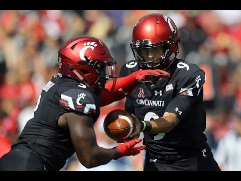 2018 American Football Highlights - Cincinnati 37, Tulane 21