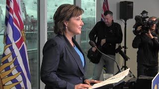 Premier Christy Clark says she will recall the B.C. legislature in June to see if she can get support to continue governing. Clark says it?s important for any change of power to happen in public.