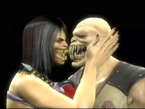 MORTAL KOMBAT 9: Fatalities on BARAKA