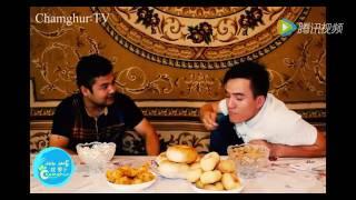 چامغۇر يۇلۇش كۈلكىلىرى -1 بۆلۈم 1- قىسىم kizkarlih uyghur yumur qak qak Funny Comedy Chamghur Yulux