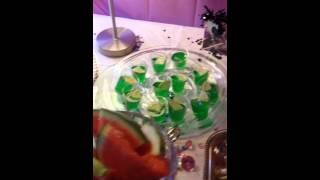 This Video Previously Contained A Copyrighted Audio Track. Due To A Claim By A Copyright Holder, The Audio Track Has Been Muted.     Jello Shots Buffet!