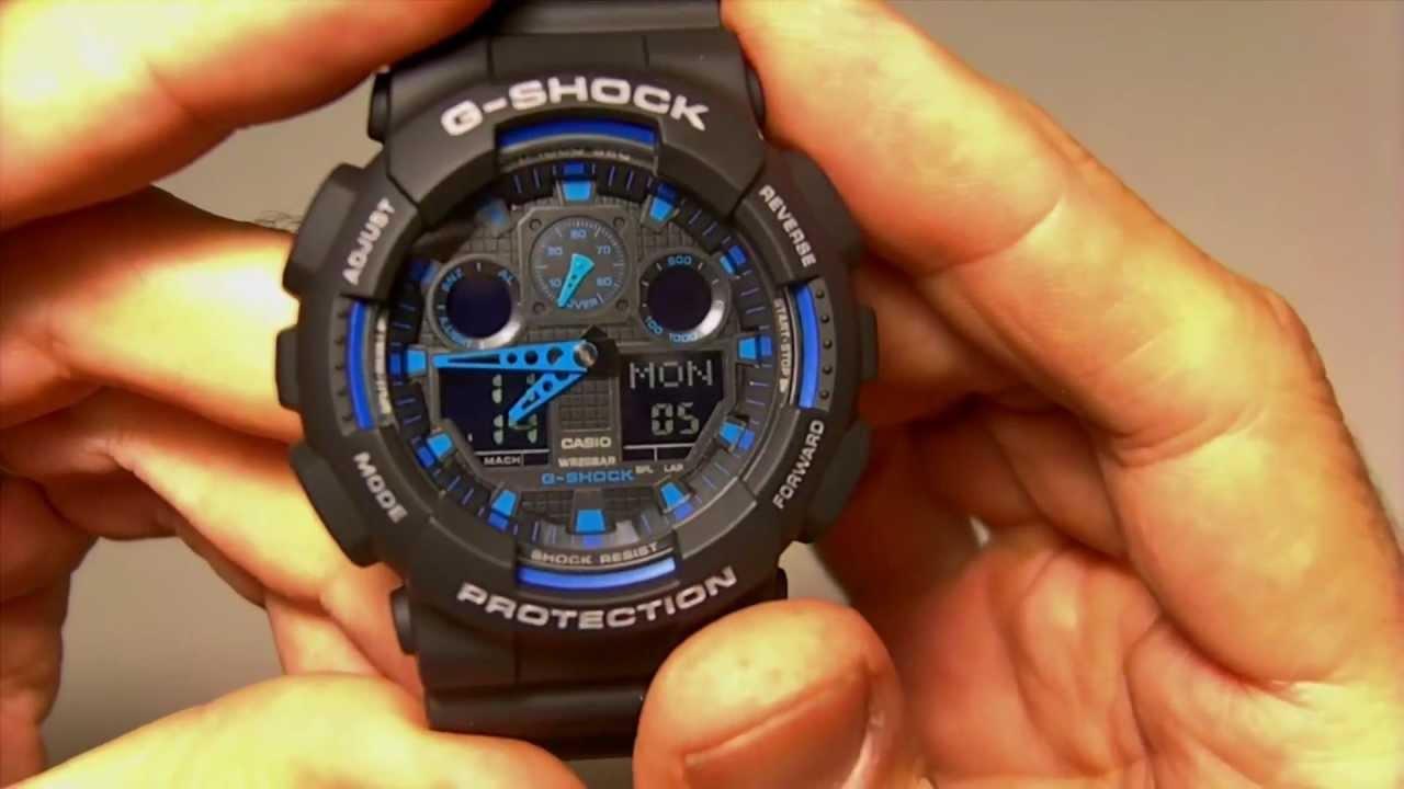 2c3850e23061 Casio GA-100-1A2ER - YouTube