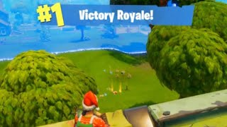 The Fastest Fortnite Win You'll Ever See