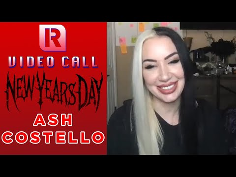 New Years Day's Ash Costello On Writing In Lockdown & Disneyland Plans - Video Call With 'Rocksound'