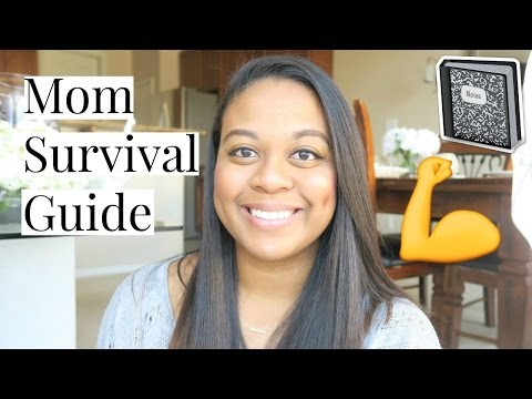 How to Survive being a Stay-At-Home-Mom
