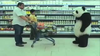 Never Say No To A Gangsta Panda! (Hood Spoof Version)