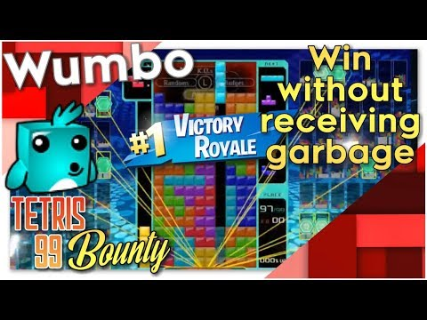 "Tetris 99 Bounty - ""Win without receiving garbage"" 29 Kills"