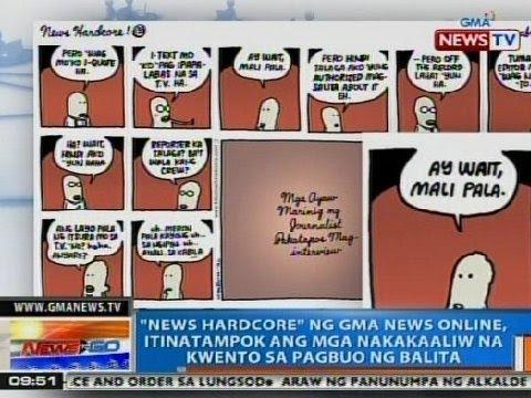 NTG: News Hardcore ng GMA News Online, itinatampok ang mga nakakaaliw na kwento sa pagbuo ng balita