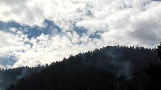 Fourmile Canyon Fire retardant drop