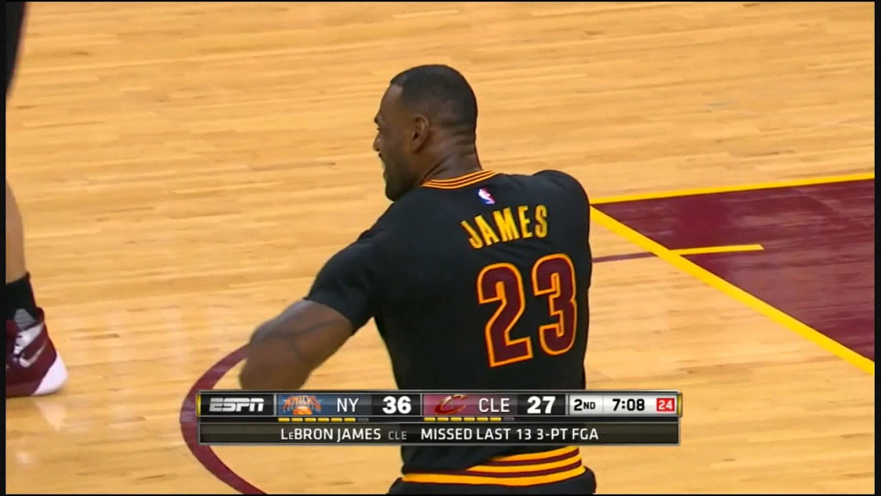 LeBron James Rips Jersey Sleeves in Frustration Mid-Game by The